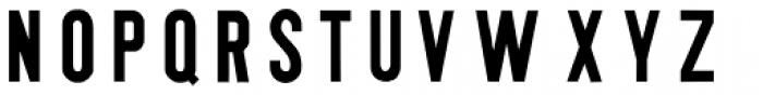 Tsjecho Font UPPERCASE
