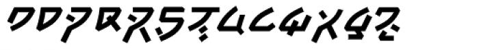 Tsunami Bold Font UPPERCASE