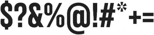 TT Backwards Sans otf (700) Font OTHER CHARS