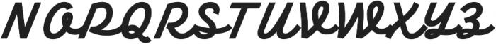 TT Backwards Script otf (700) Font UPPERCASE
