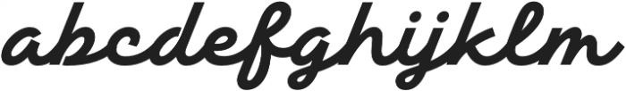 TT Backwards Script otf (700) Font LOWERCASE