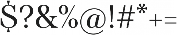 TT Barrels otf (400) Font OTHER CHARS