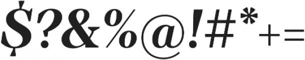 TT Barrels otf (700) Font OTHER CHARS
