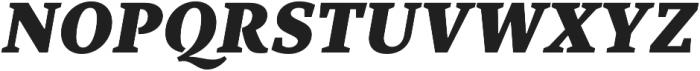TT Bells Black Italic otf (900) Font UPPERCASE