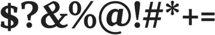 TT Bells otf (700) Font OTHER CHARS