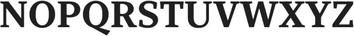 TT Bells otf (700) Font UPPERCASE