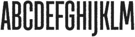 TT Bluescreens Rough Bold otf (700) Font UPPERCASE