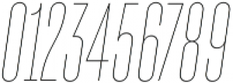 TT Bluescreens Thin Italic otf (100) Font OTHER CHARS