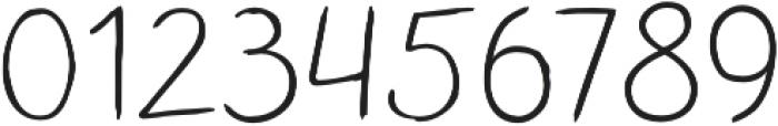 TT Blushes Light otf (300) Font OTHER CHARS