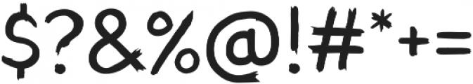 TT Blushes otf (400) Font OTHER CHARS