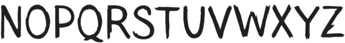 TT Blushes otf (400) Font UPPERCASE