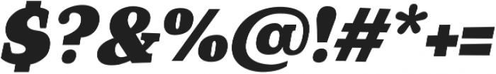 TT Coats Black Italic otf (900) Font OTHER CHARS