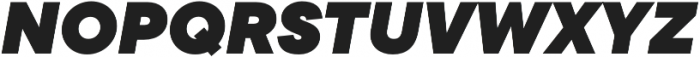 TT Commons Black Italic otf (900) Font UPPERCASE