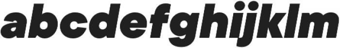 TT Commons Black Italic otf (900) Font LOWERCASE