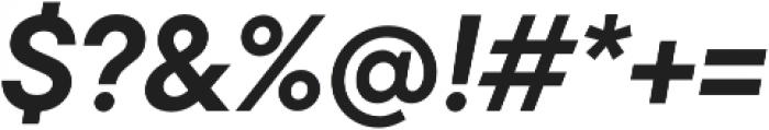 TT Commons DemiBold Italic otf (600) Font OTHER CHARS