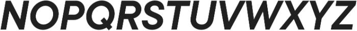 TT Commons DemiBold Italic otf (600) Font UPPERCASE