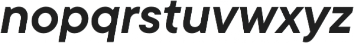 TT Commons DemiBold Italic otf (600) Font LOWERCASE