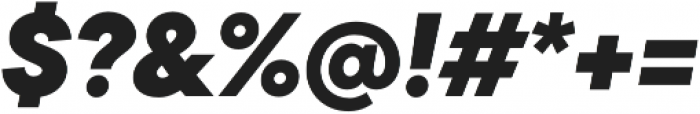 TT Commons ExtraBold Italic otf (700) Font OTHER CHARS