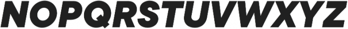 TT Commons ExtraBold Italic otf (700) Font UPPERCASE