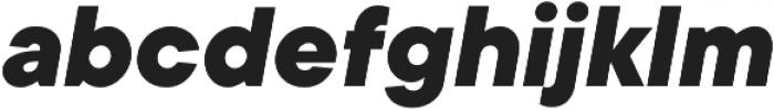 TT Commons ExtraBold Italic otf (700) Font LOWERCASE