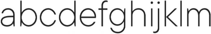 TT Commons ExtraLight otf (200) Font LOWERCASE