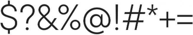 TT Commons Light otf (300) Font OTHER CHARS