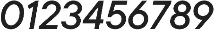 TT Commons Medium Italic otf (500) Font OTHER CHARS