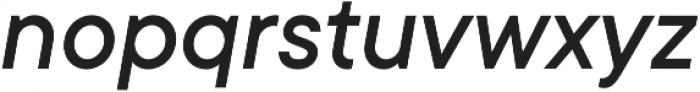 TT Commons Medium Italic otf (500) Font LOWERCASE