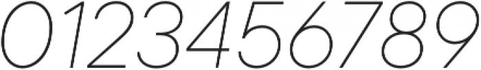 TT Commons Thin Italic otf (100) Font OTHER CHARS
