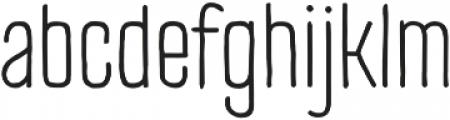 TT Cottons Light otf (300) Font LOWERCASE