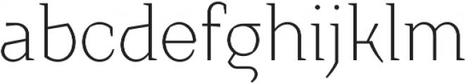 TT Crimsons Light otf (300) Font LOWERCASE