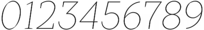 TT Crimsons Thin Italic otf (100) Font OTHER CHARS