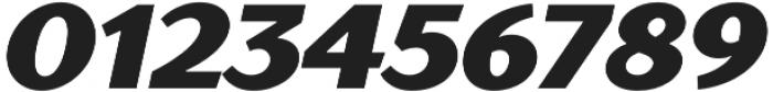 TT Drugs Black Italic otf (900) Font OTHER CHARS