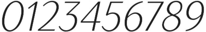 TT Drugs Condensed Light Italic otf (300) Font OTHER CHARS