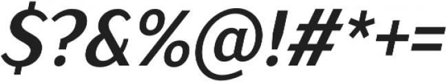 TT Drugs Condensed otf (700) Font OTHER CHARS