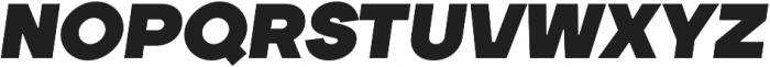 TT Firs Black Italic otf (900) Font UPPERCASE