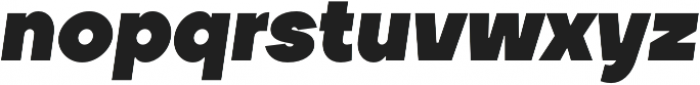 TT Firs Black Italic otf (900) Font LOWERCASE
