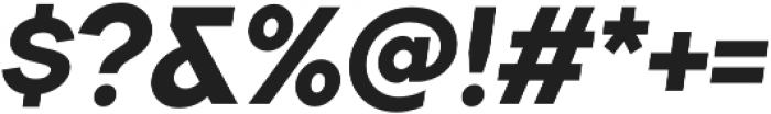 TT Firs ExtraBold Italic otf (700) Font OTHER CHARS