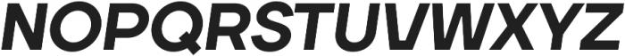 TT Firs ExtraBold Italic otf (700) Font UPPERCASE