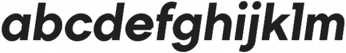 TT Firs ExtraBold Italic otf (700) Font LOWERCASE