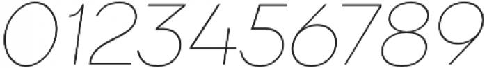 TT Firs ExtraLight Italic otf (200) Font OTHER CHARS