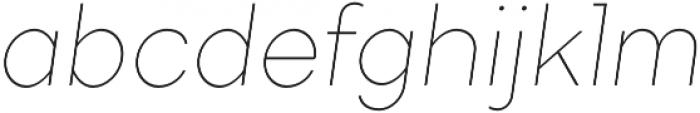 TT Firs ExtraLight Italic otf (200) Font LOWERCASE