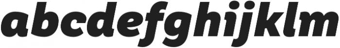 TT Hazelnuts Black Italic otf (900) Font LOWERCASE