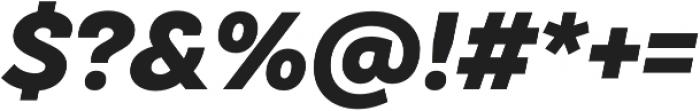 TT Hazelnuts ExtraBold Italic otf (700) Font OTHER CHARS