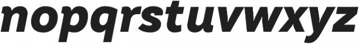 TT Hazelnuts ExtraBold Italic otf (700) Font LOWERCASE