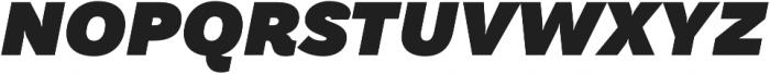 TT Hazelnuts Heavy Italic otf (800) Font UPPERCASE