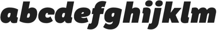 TT Hazelnuts Heavy Italic otf (800) Font LOWERCASE