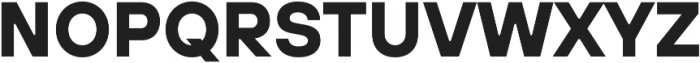 TT Hoves DemiBold Italic otf (600) Font UPPERCASE