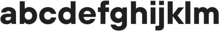 TT Hoves DemiBold Italic otf (600) Font LOWERCASE