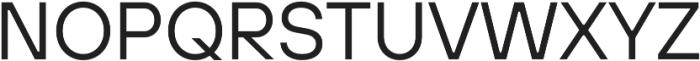 TT Hoves ExtraBold Italic otf (700) Font UPPERCASE